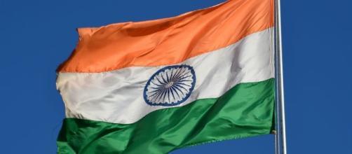 The National Flag of India / Photo via Clément Bardot, Own work