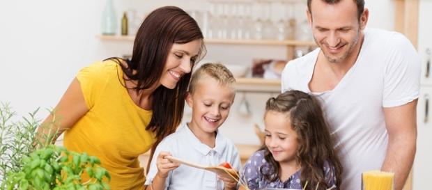Cocinando con los hijos, fomentando hábitos de vida saludable en los niños