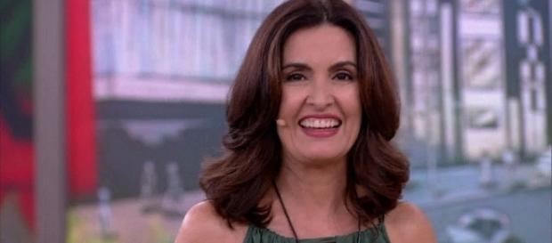 Fátima Bernardes protagonizou um momento inédito