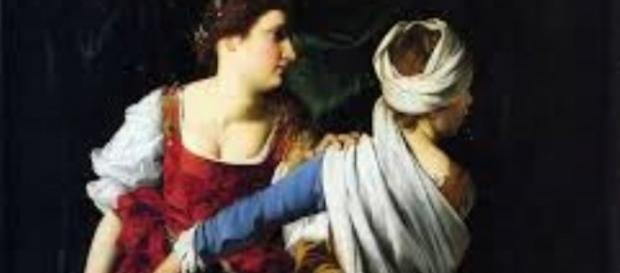 "Gentileschi's ""Judith and Her Maidservant"" FAIR USE artsunlight.com Creative Commons"