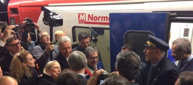 Inaugurazione Metro Catania Foto di LiveUniCt
