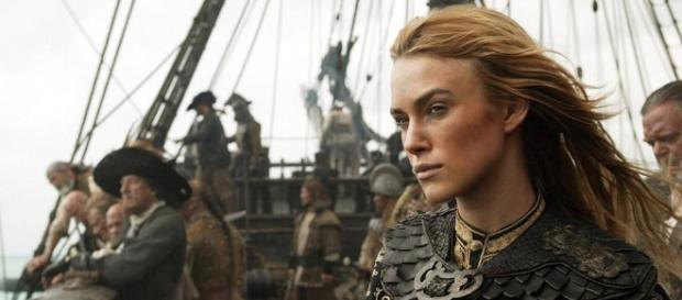 Keira Knightley en Piratas del Caribe