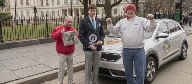 Kia Niro entrou para o Guinness Book como o veículo híbrido mais econômico do mundo