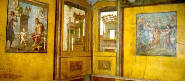 L'interno della Casa dei Vettii