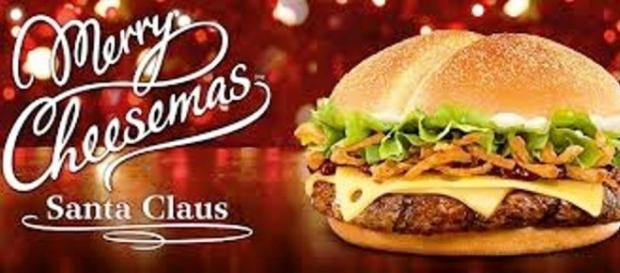 La ricetta del Santa Claus Burger