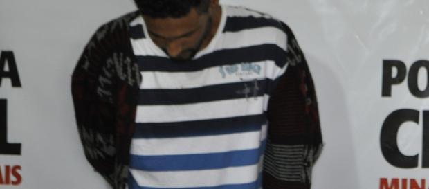 Raimundo Antônio Batista de Brito, 26 anos, já está preso .