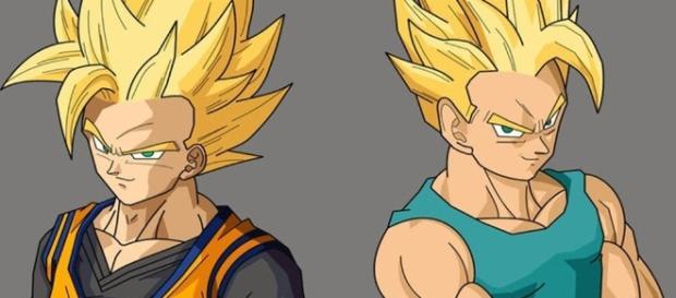Trunks y Goten varios años después