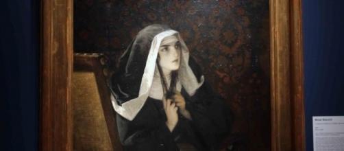 La monaca di Monza: dipinto presente alla mostra.