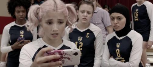 "Screenshot from Degrassi trailer, via YouTube (""Degrassi: Next Class Season 3 Trailer"")"