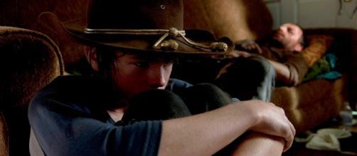 Será Carl o único sobrevivente da série?