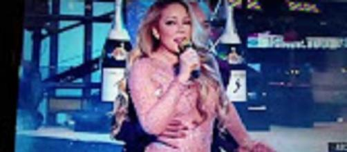 Source: Youtube channel Magical Moments: Mariah Carey New Year's Eve flub