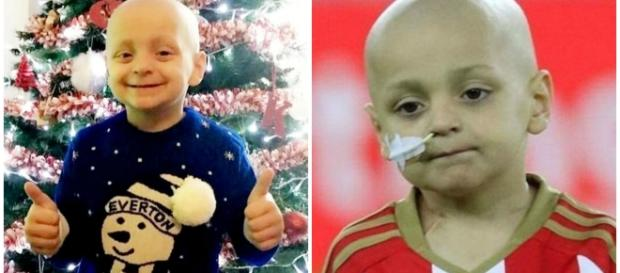 Bradley Lowery está lutando bravamente contra um câncer