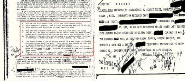 Suposta carta enviada pelo diretor do FBI para outras entidades em 1947