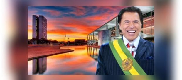 Sílvio Santos é apontado à presidência do país nas próximas eleições.