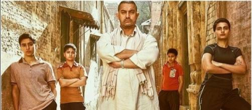 Aamir Khan in Dangal gets great audience reviews ;/' Photo screencap via Twitter