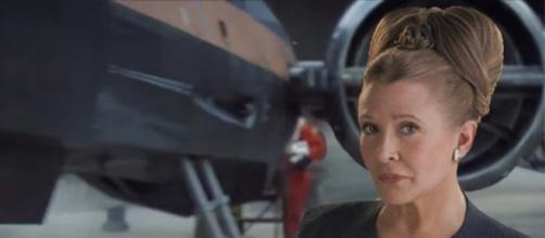 Carrie Fisher voltou a interpretar Leia Organa, em 2015 (Foto: Divulgação)