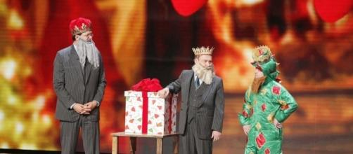 Americas Got Talent Christmas.Penn And Teller Make Appearance On America S Got Talent Christmas