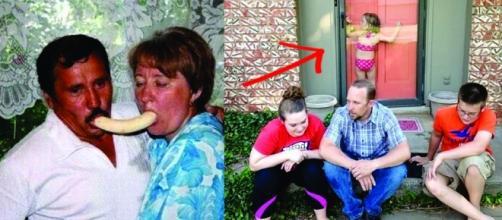Tirar fotos em família pode ser algo muito complicado