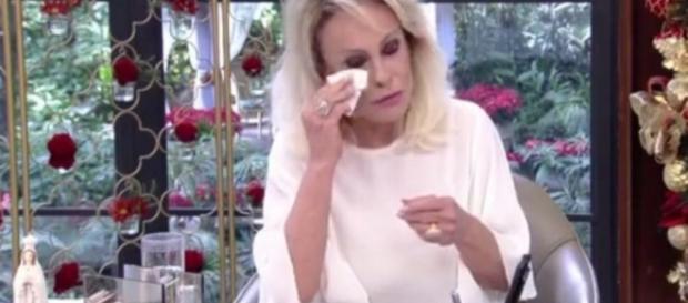 Ana Maria Braga chora ao ouvir pedido de telespectadora - Globo