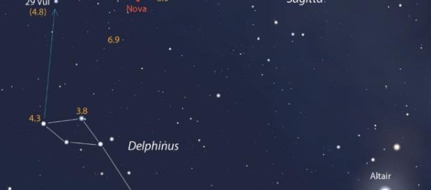 """Aparece """"Nueva Estrella"""" en el cielo: ¡ Visible a simple vista ... - argentinaforo.net"""