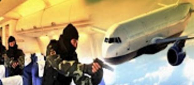 Avião é sequestrado com mais de 100 - Imagem/Ilustrativa