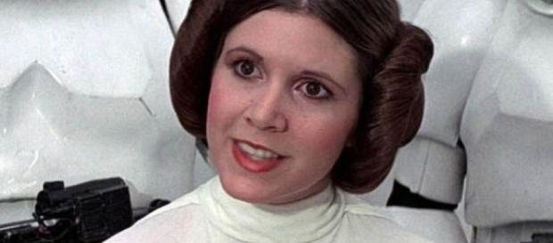 Carrie Fisher ficou conhecida como a princesa LeiA - hardmusica.pt