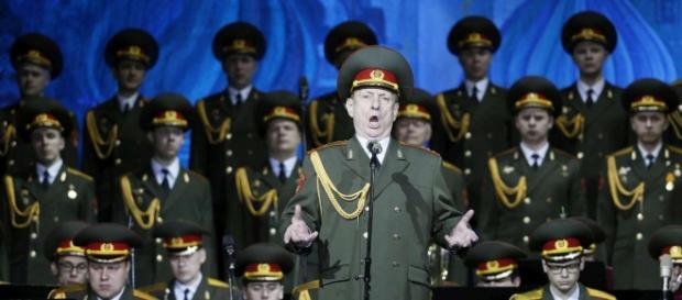 Il complesso Aleksandrov, noto come l'ex coro dell'Armata russa.