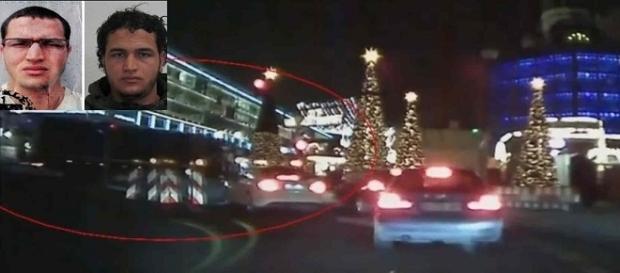 Imagem registra o momento em que caminhão invade a feira natalina em Berlim e deixa inúmeras vítimas.