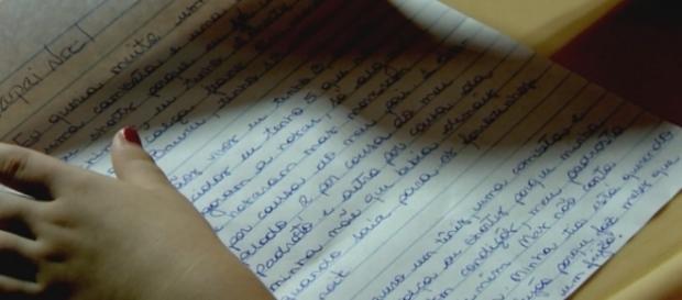 Menina diz em carta que foi abusada - Google