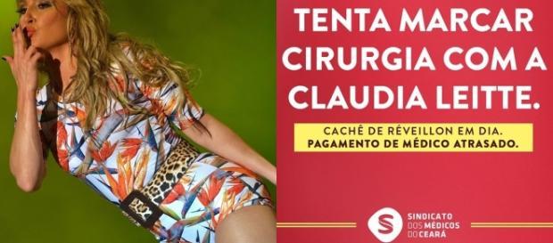 """Tenta marcar cirurgia com Claudia Leitte"""", diz protesto de médicos ... - com.br"""