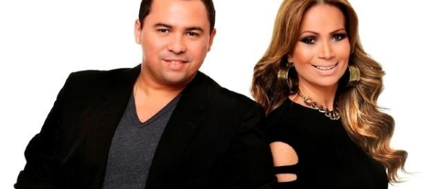 Xand e Solange são os vocalistas do Aviões do Forró (Foto: Arquivo)