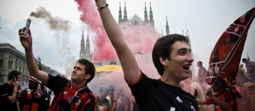 18° scudetto del Milan: foto della festa in piazza Duomo
