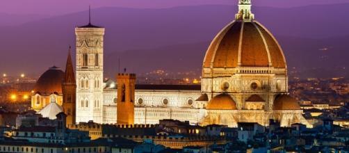 Firenze al tramonto. Surreale.