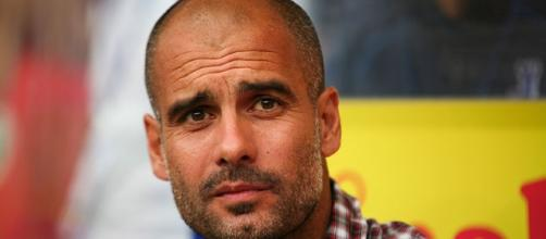 Pep Guardiola will be facing is first Boxing Day. Picture by Thomas Rodenbücher (Creative Commons).