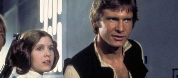 Carrie Fisher, a Princesa Leia de Star Wars, está na UTI de um hospital em Los Angeles (foto: Divulgação)