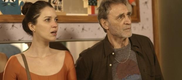 Júlia e Gordo ficam incrédulos com atitude de Diana