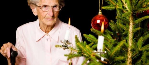 La soledad también vive en la Navidad