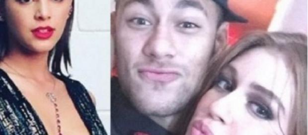 Neymar quiz atriz famosa antes de Bruna - Google