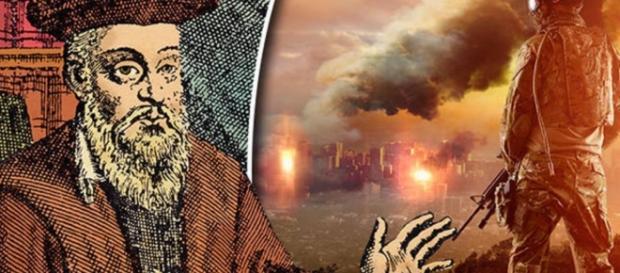 Nostradamus teria previsto a guerra? - Imagem/Google