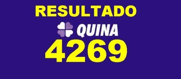 Resultado do jogo da Quina 4269