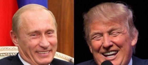 Vladimir Putin and Donald Trump - Getty Images - bostonglobe.com