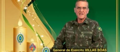 Mensagem natalina de comandante do Exército prevê agravamento da crise em 2017