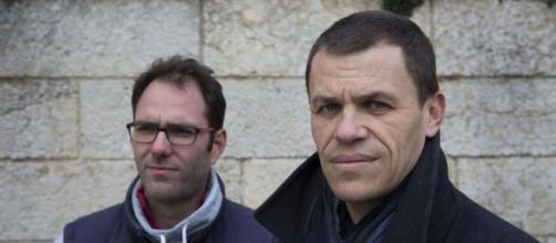 Pédophilie :Deux des victimes, François Devaux et Bertrand Virieux (à d) ont fait de La parole libérée leur combat quotidien - leparisien.fr