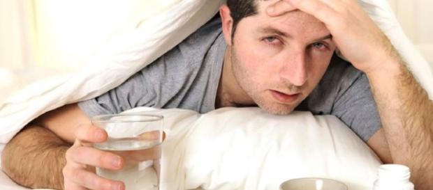 Se você exagerar na bebida alcoólica, não tem como fugir da ressaca