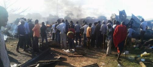 A Christmas day fire tragedy that left Rombo residents in shock/N. via ....Waigwa