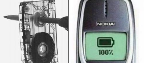 Rebobinar a fita K7 e ter uma bateria de celular que durava dias era comum