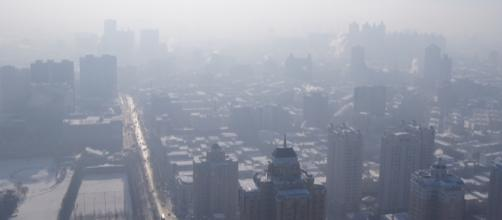 Heavy levels of smog blanket Harbin, China. Fredrik Rubensson-Wikimedia CCA-SA-2