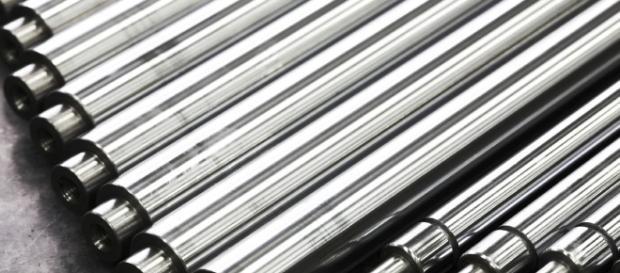 Barra redonda de acero un material con muchos usos