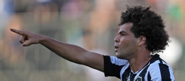 Camilo garantiu que vai seguir no Botafogo (Foto: Vitor Silva/SSPress/Botafogo)