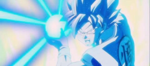 Goku haciendo uso del Hame-Hame ha